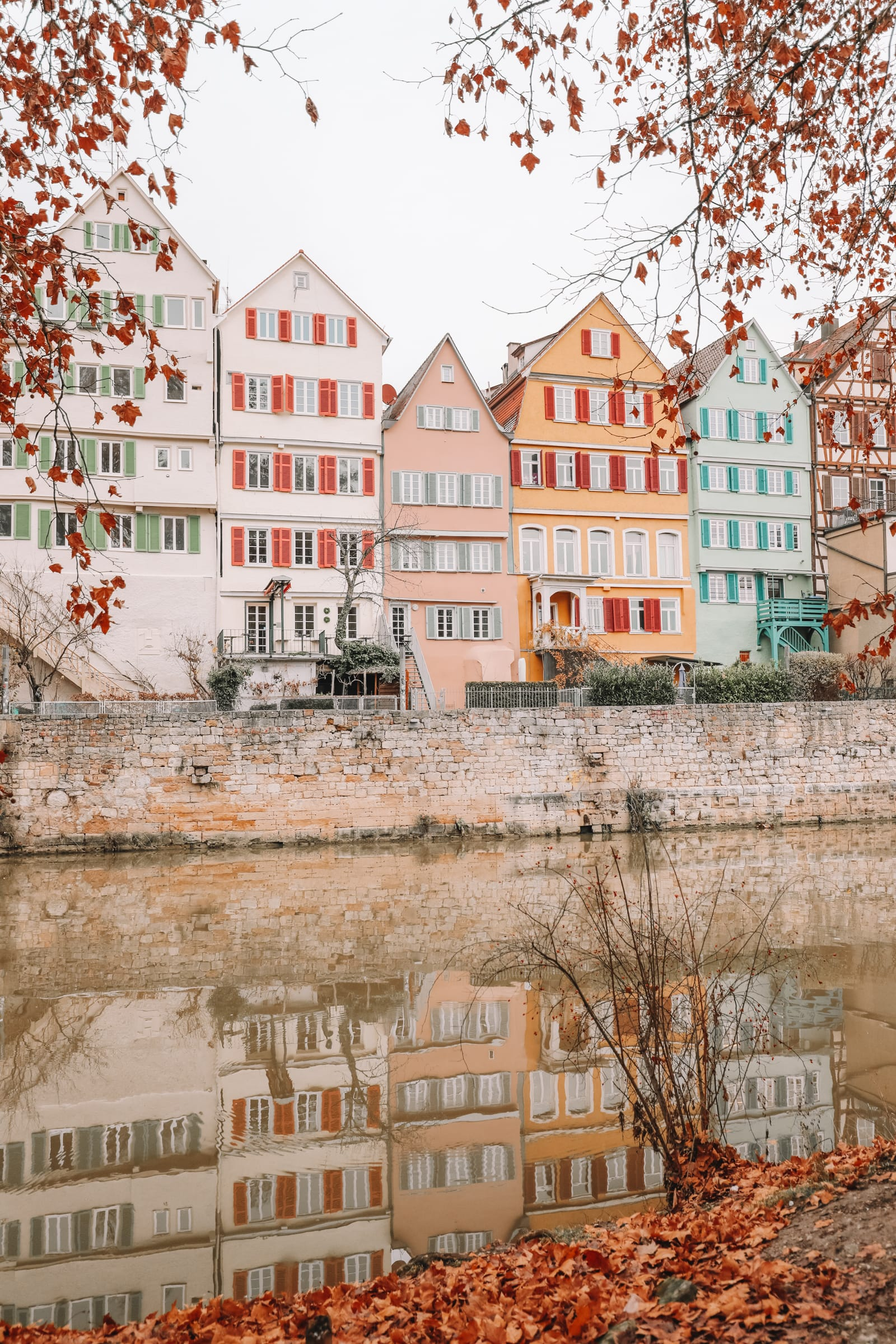 The Colourful Ancient City Of Tubingen, Germany