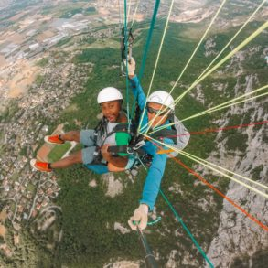 Paragliding From France Into Switzerland (54)