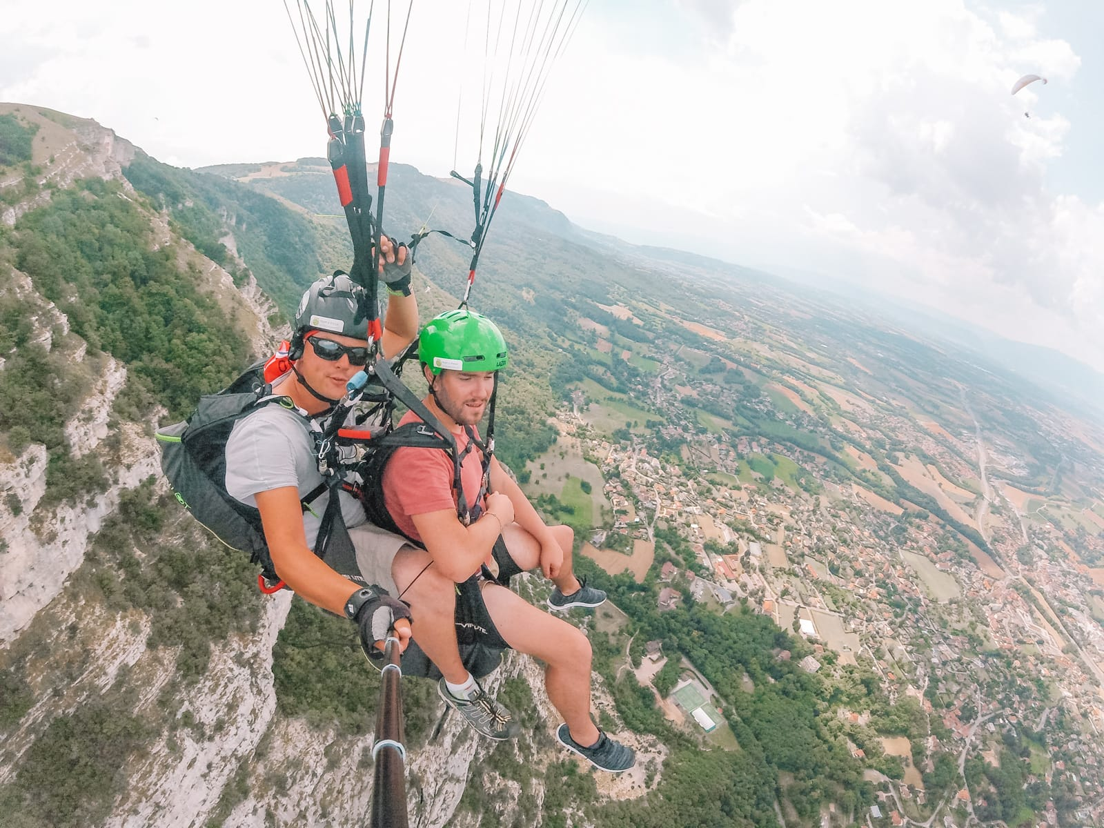 Paragliding From France Into Switzerland (56)