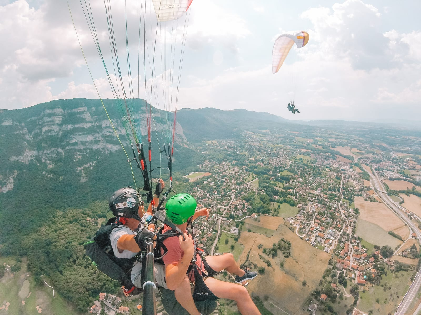 Paragliding From France Into Switzerland (58)