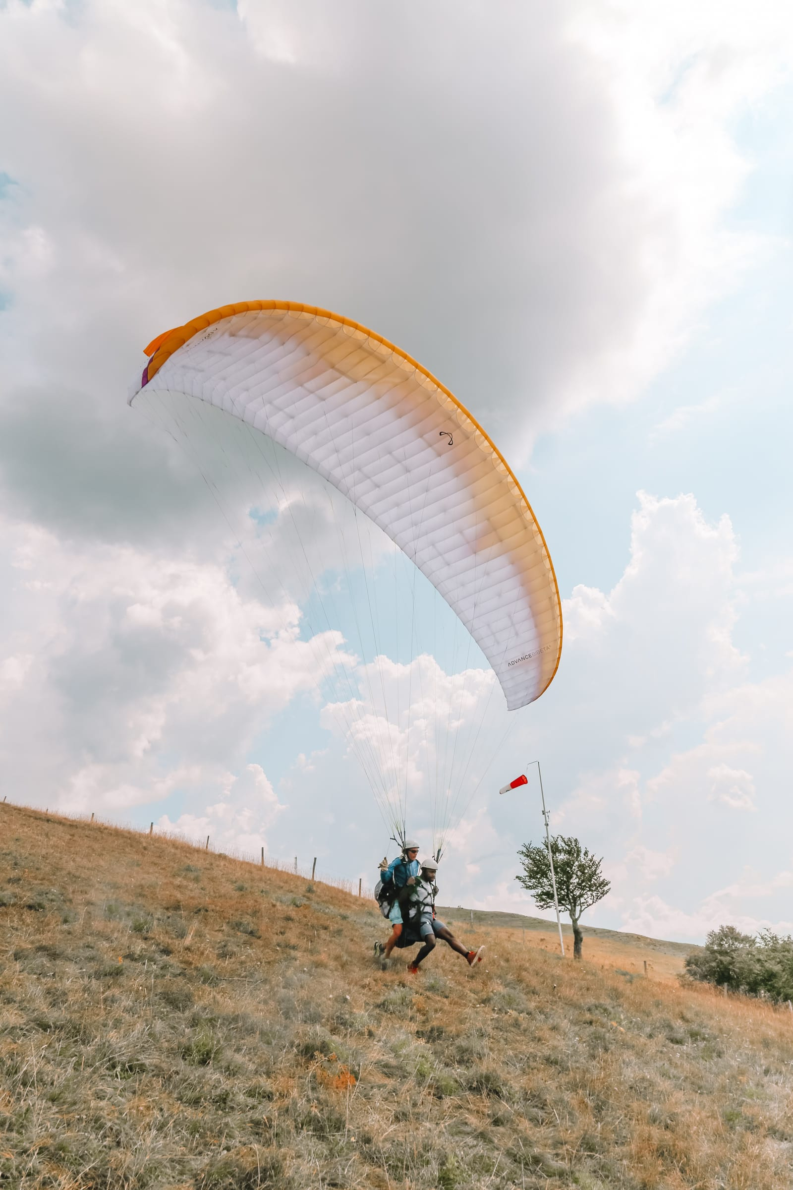Paragliding From France Into Switzerland (44)