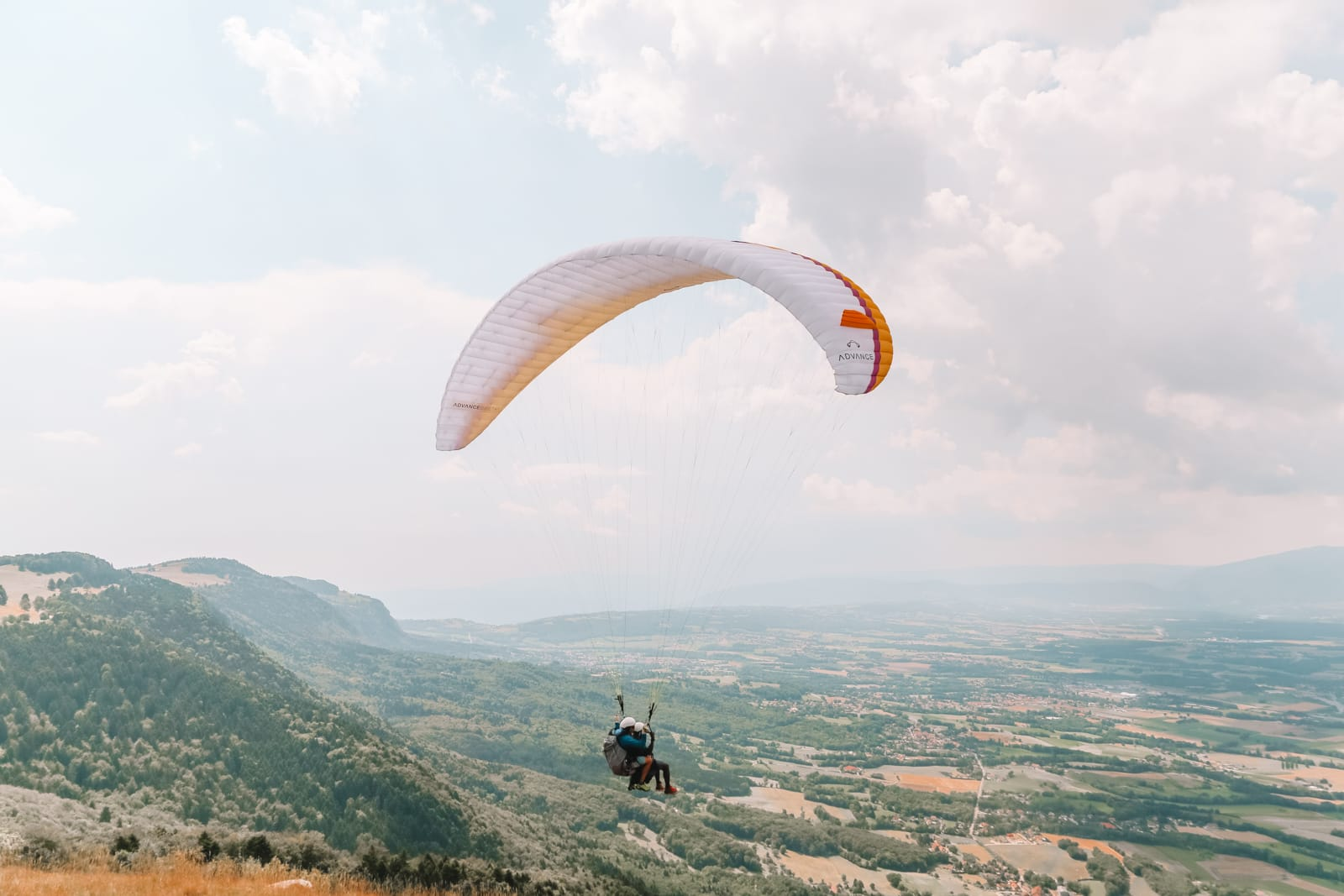 Paragliding From France Into Switzerland (45)
