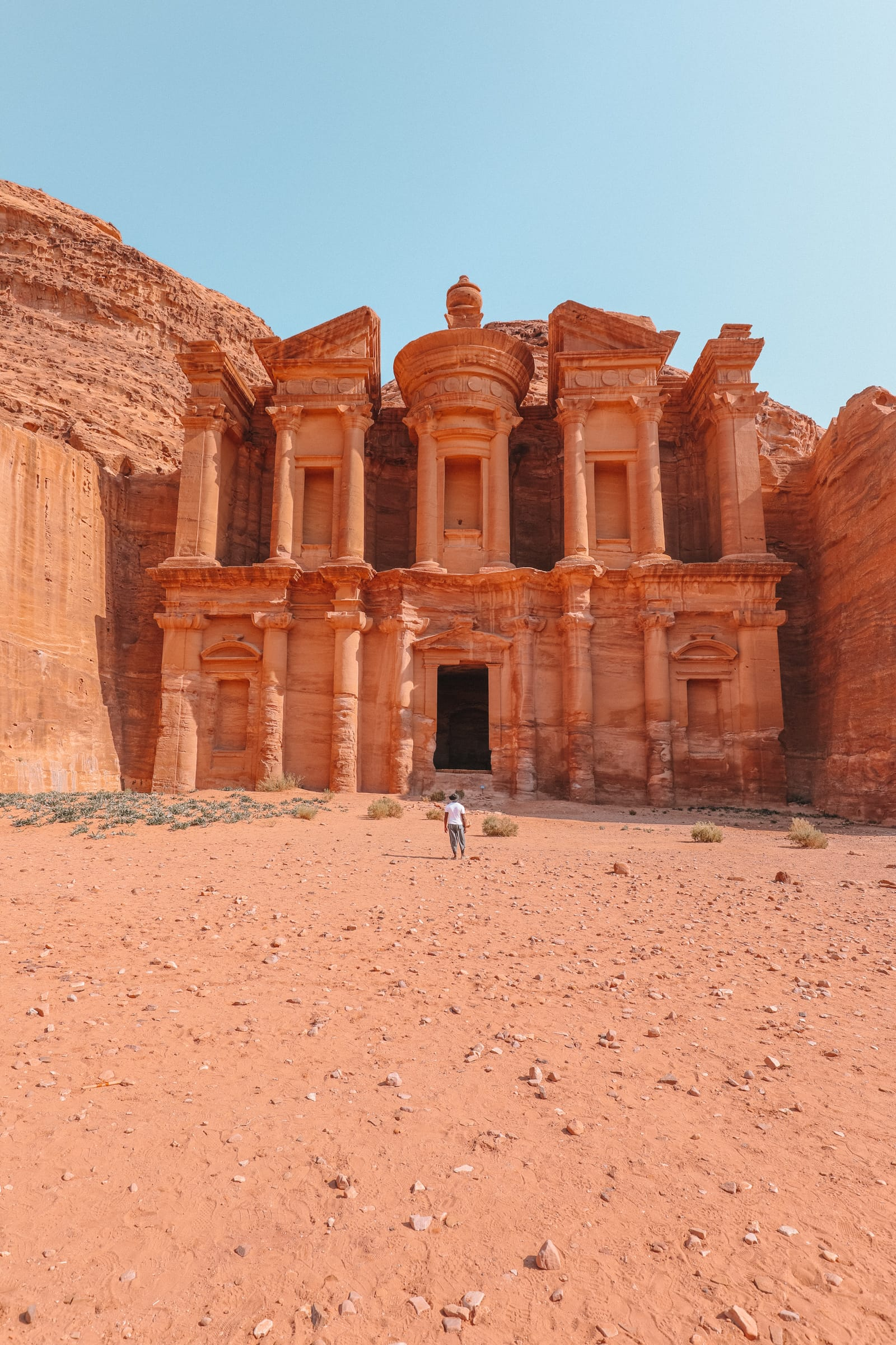 Finding The Monastery Up In The Mountains In Petra, Jordan (18)