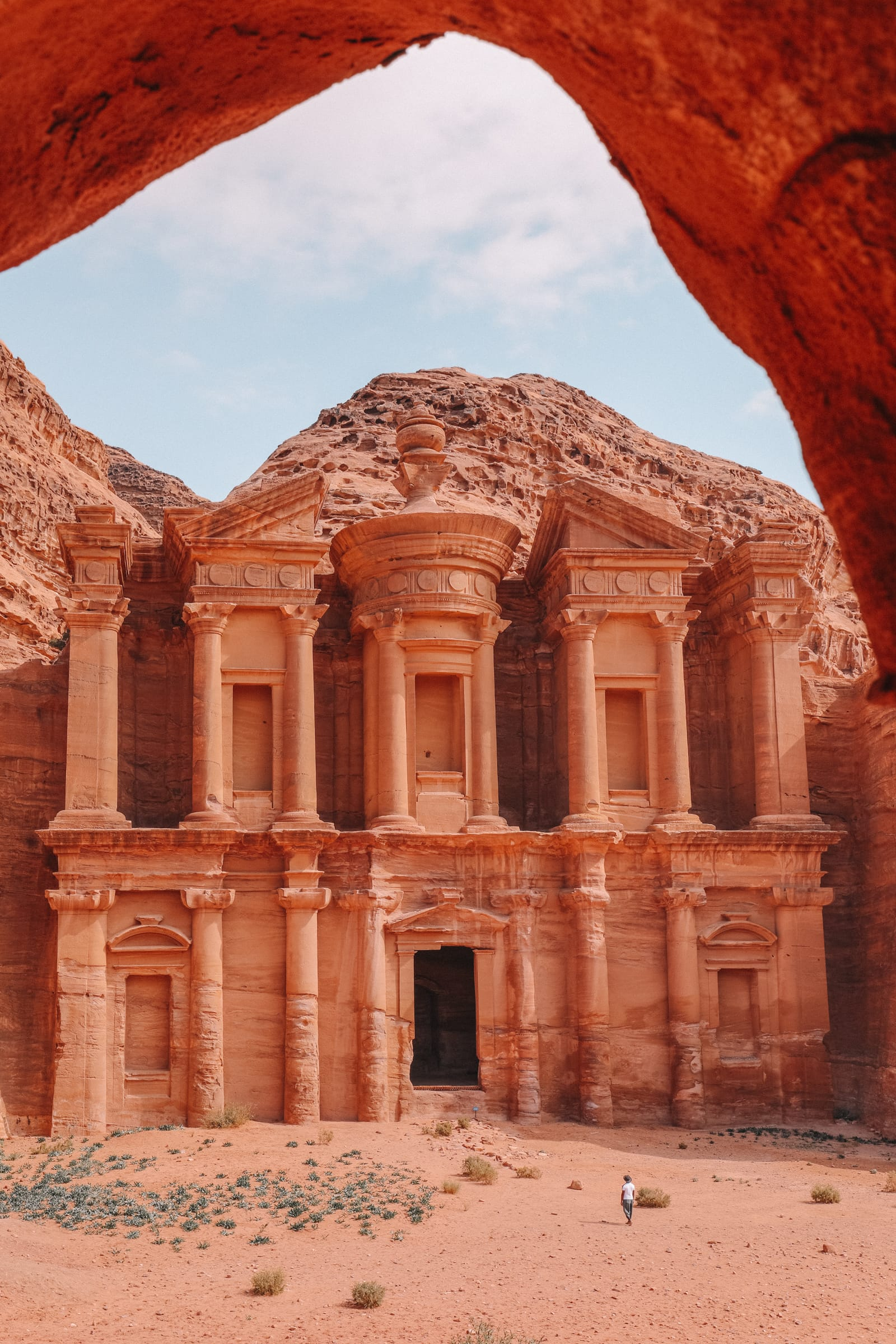 Finding The Monastery Up In The Mountains In Petra, Jordan (25)