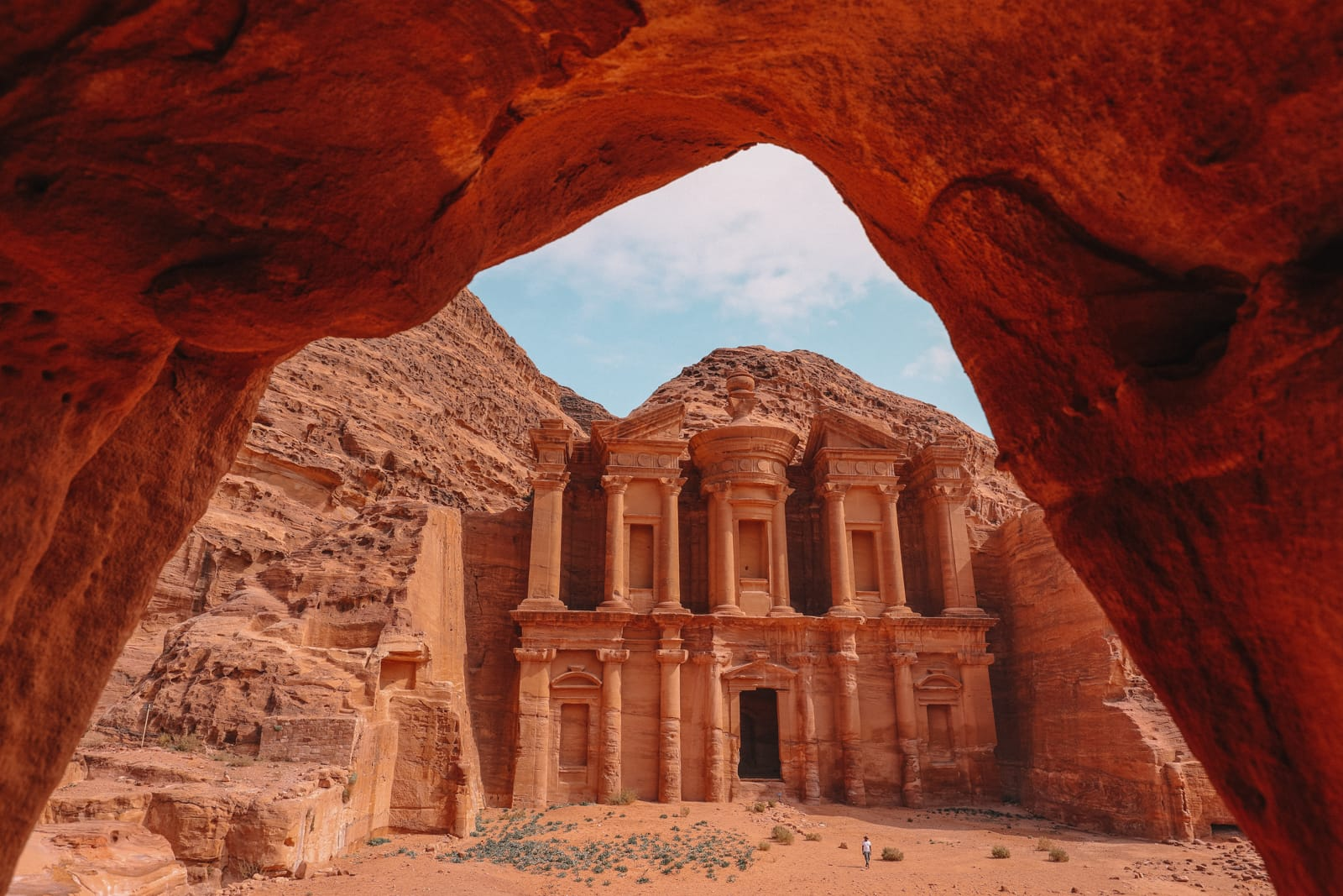 Finding The Monastery Up In The Mountains In Petra, Jordan (26)
