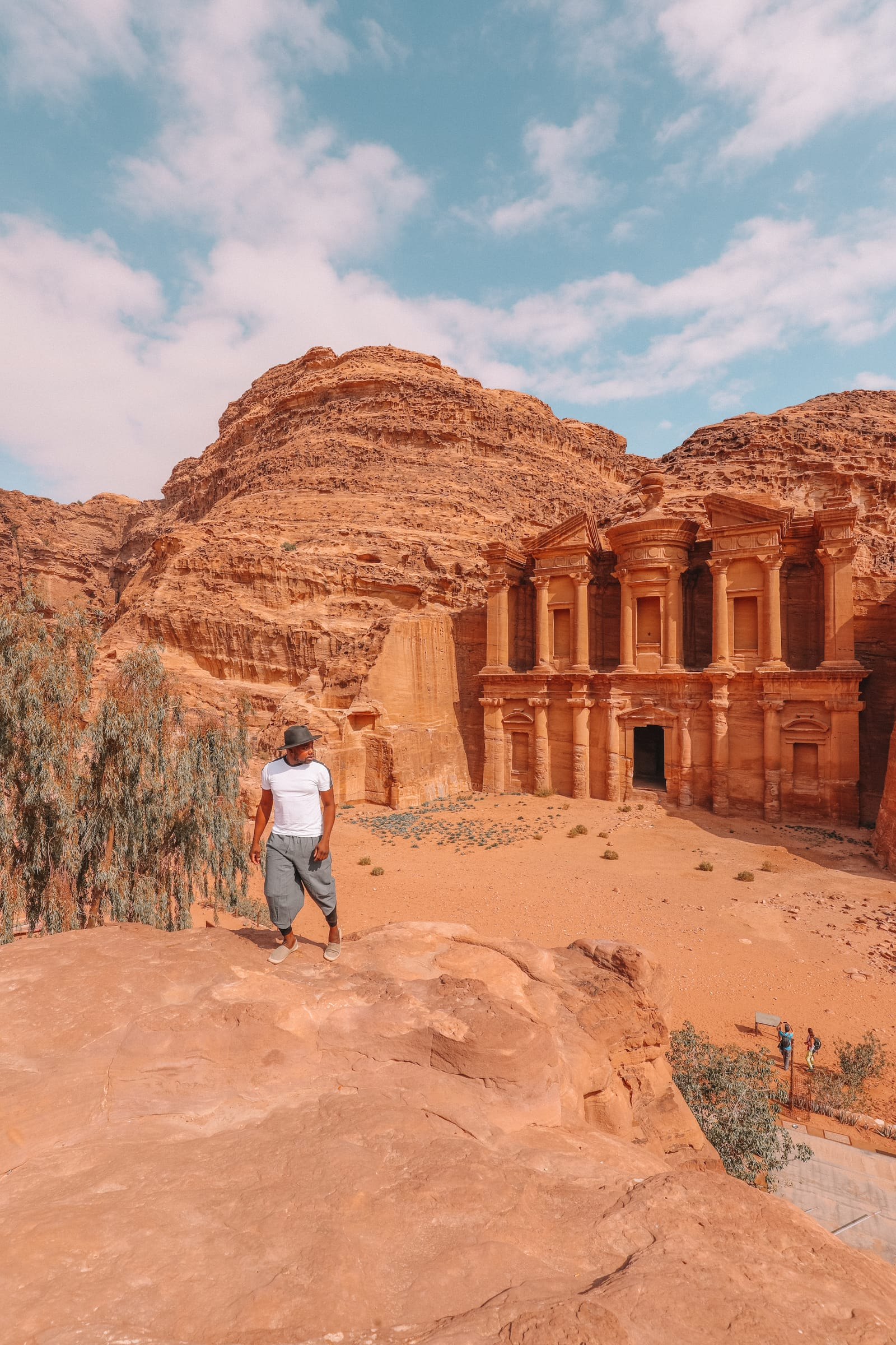 Finding The Monastery Up In The Mountains In Petra, Jordan (29)