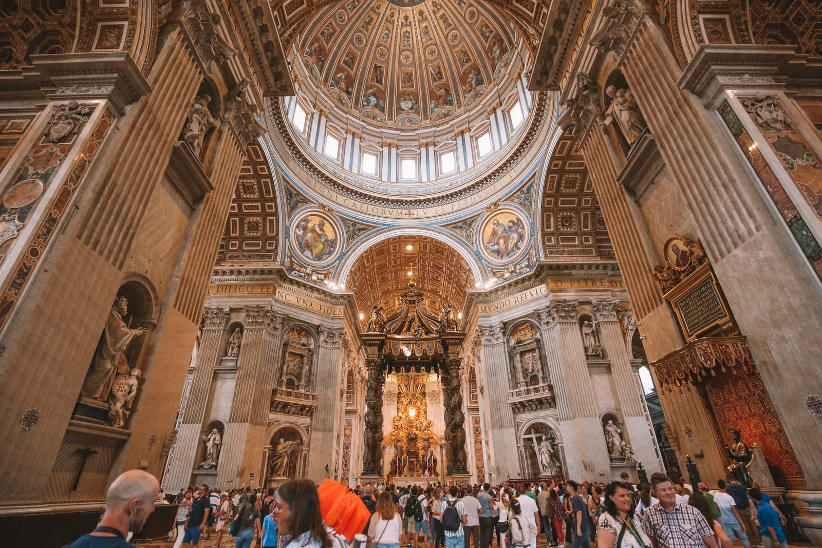The Magnificent St Peter's Basilica In The Vatican City, Rome (28)