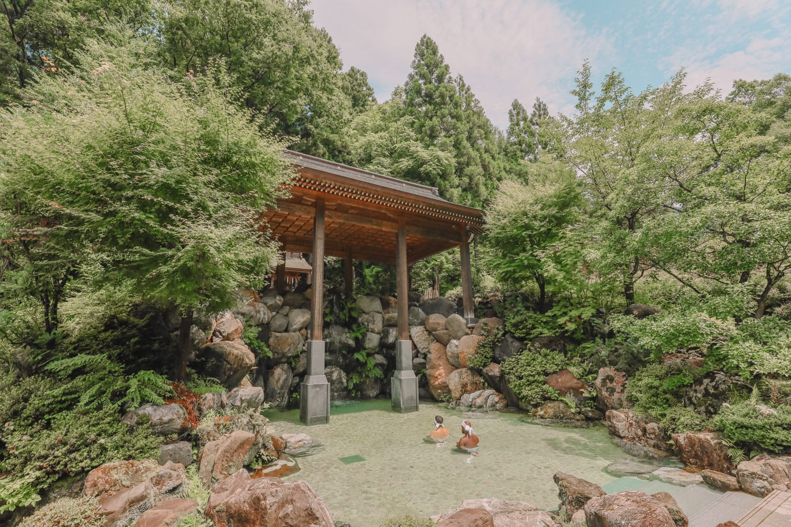 A Misogi Purification Ritual And Temples In Hakusan City - Japan (39)