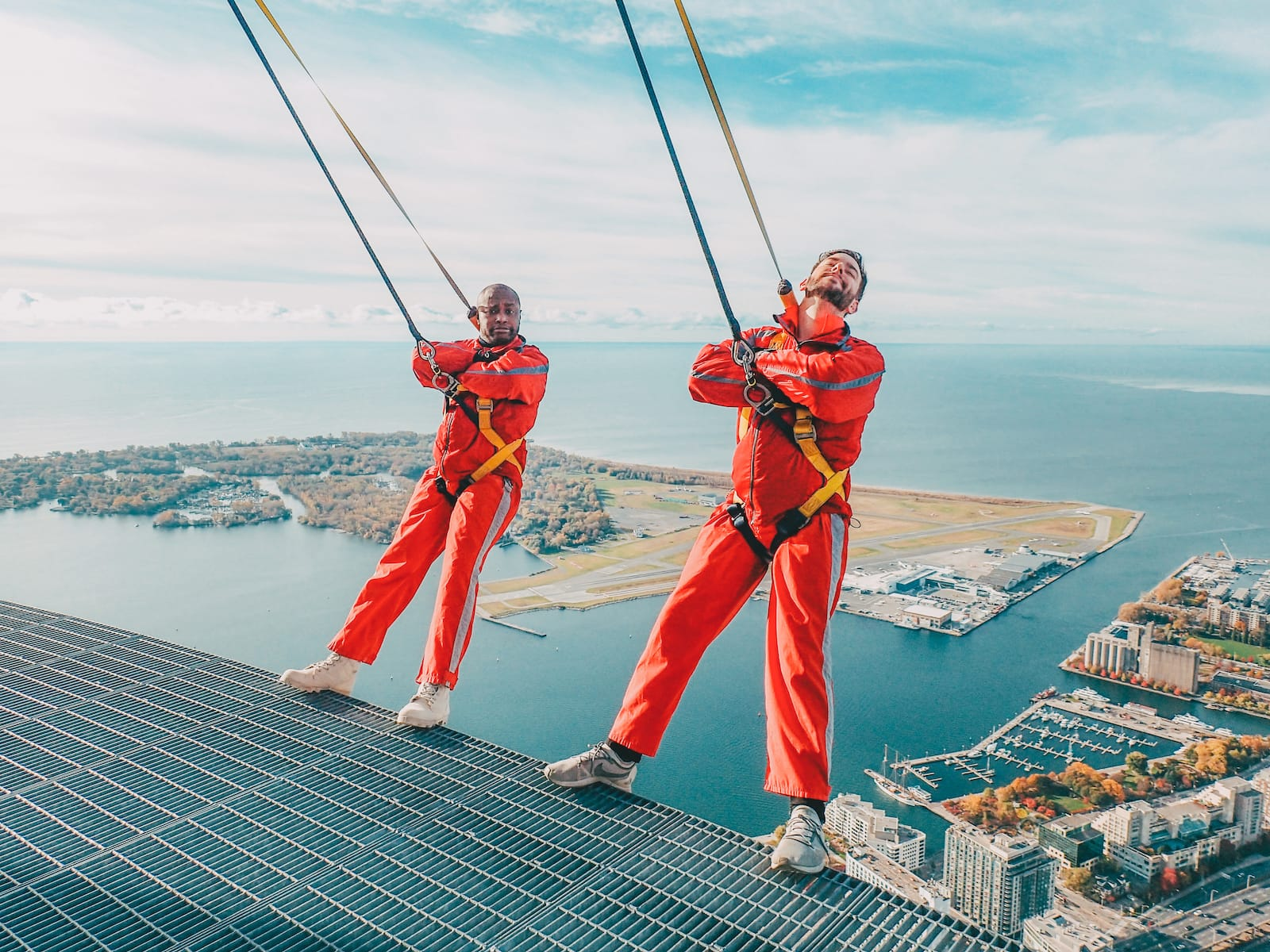 EdgeWalk at the CN Tower - 17 Fun Ways To Spend A Weekend In Toronto