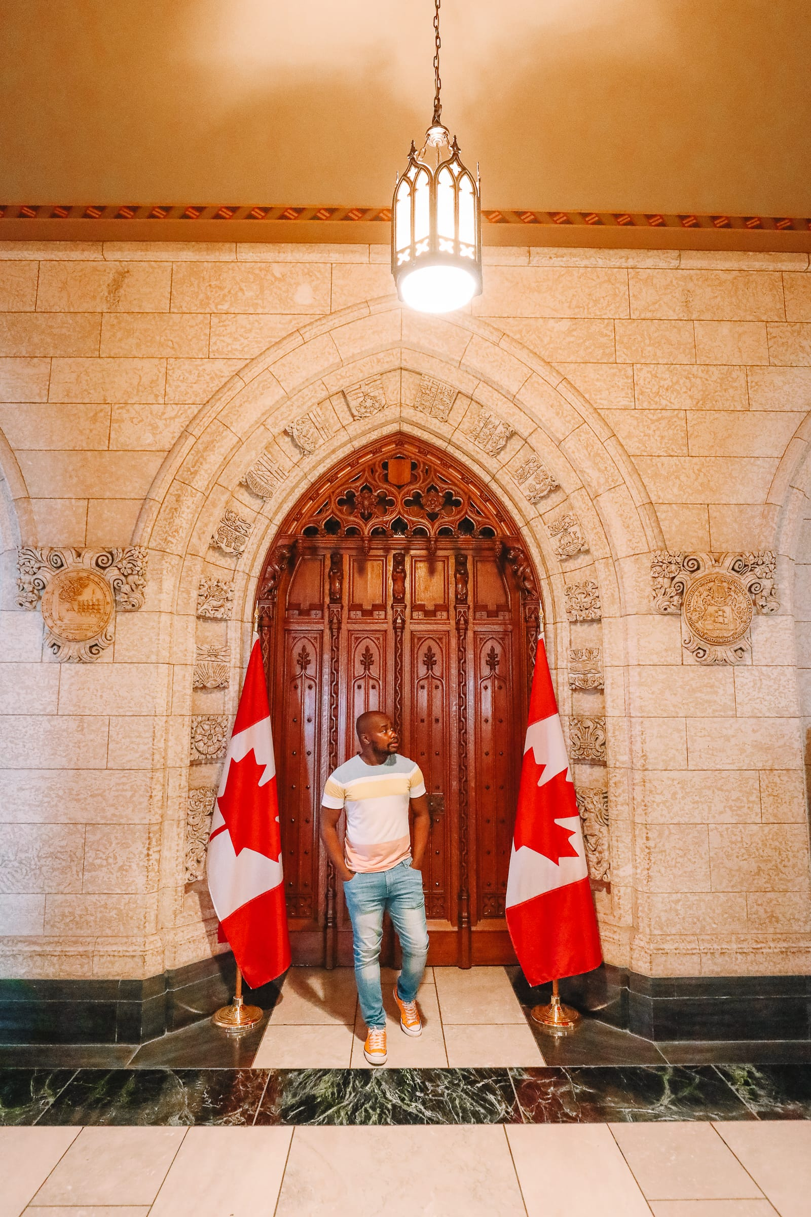 Visiting The Parliament Of Canada (16)